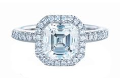 "#asscher-cut ""diamonds are forever"" engagement ring 5.03 carats $157k WOWZERS it's so beautiful though... Yours Truly, #tiaShanee  www.hellofashionworld.wordpress.com www.tiashanee.wordpress.com www.tiashanee.tumblr.com"