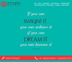 #MotivationalQuote #MYSOG #StudyOverseasGlobal