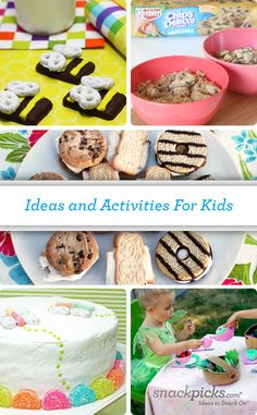 Fun food and activities for kids!