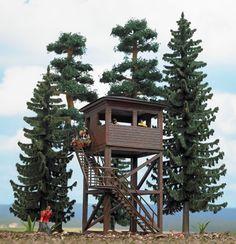 Busch 6394 - Forest Set w/Lookout Twr