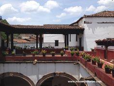 Patios Mexicanos de gran belleza encontrarás en Pátzcuaro.