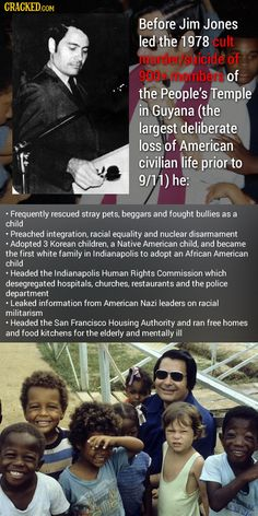The 23 Most Surprising (True) Facts About Awful People True Facts, Weird Facts, Inspirational Women In History, Beloved Movie, Racial Equality, Win Money, Famous Monsters, How To Become Rich, Image Macro