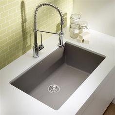 BLANCO SOP1 Precis Maxi Silgranit Undermount Sink