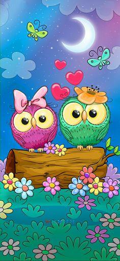 Chanel Wallpapers, Cute Wallpapers, Cute Owls Wallpaper, Owl Clip Art, Cellphone Wallpaper, Aesthetic Iphone Wallpaper, Beautiful Sunset, Pikachu, Beautiful Pictures