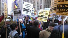 LA VOZ DE SAN JOAQUIN: (VIDEOS) En Nueva York protestaron frente a CNN y ...