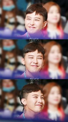 G-Dragon.his adorable simle..i think there are two shades oh him: jiyong and dragon