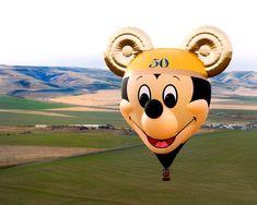 'The Happiest Balloon on Earth' on its Maiden Flight in Pendleton, Ore