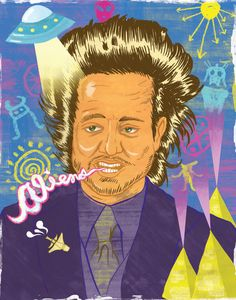Giorgio A. Tsoukalos' hair grows more crazy with each theory he comes up with... it must be ALIENS!