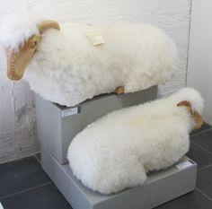 Sheep Footstools By John Neusinger