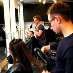 Szkolimy młodych stylistów :)