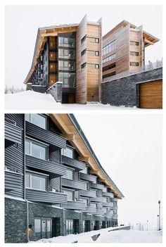 Copperhill Mountain Lodge - Architects: Bohlin Cywinski Jackson: