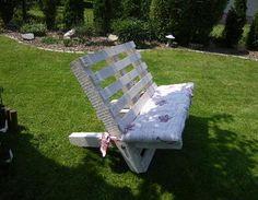 Gartenbank aus Euro-Paletten Gartenmöbel,Gartenbank,Holzbank,Europalette