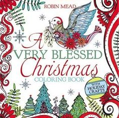 A coloring book aimed at adults, teens and tweens for the Christmas season. 85 images.