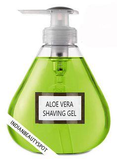 Natural Aloe Vera Shaving Gel