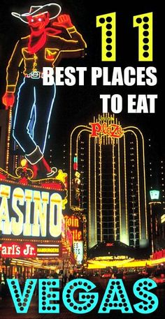 With hundreds of restaurant picks in Vegas, it's hard knowing where to go! Here are my Top 11 Places To Eat and Drink in Las Vegas