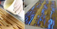resin inlay tables