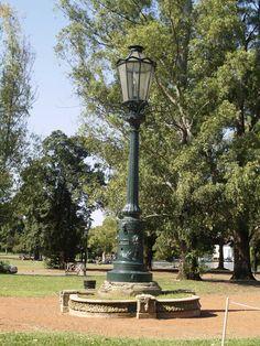 Parque Tres de Febrero, Palermo Buenos Aires - diseñador Carlos Thays