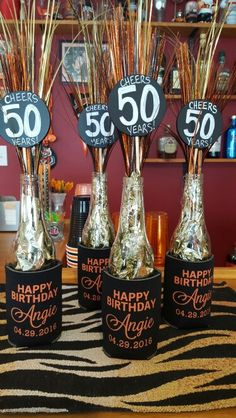 50 and fabulous 50 birthday parties birthday party ideas and 50th beer bottle decorations done thecheapjerseys Choice Image