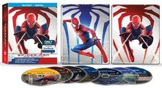 Spider-Man Legacy Collection [SteelBook] [Blu-ray] - Front_Standard