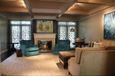 Contemporary Living Room - Come find more on Zillow Digs!
