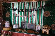 Ysaac's Hansel and Gretel Themed Party – Welcome Area