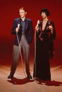 Bowie and Cher