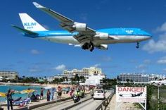 tripbucket   Dream: Plane Spotting at Maho Beach, Princess Juliana International Airport, St Maarten