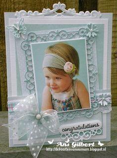 Voorbeeldkaart - ...Congratulations... - Categorie: Scrapkaarten - Hobbyjournaal uw hobby website