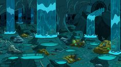 Adventure Time animation backgrounds cartoons caves wallpaper (#728841) / Wallbase.cc