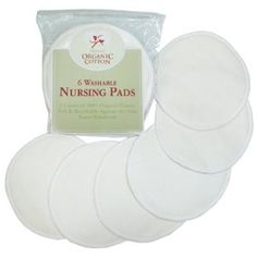 TL Care 100% Organic Cotton Nursing Pads - I COULD NOT USE THE DISPOSABLE PADS.  THEY CHAFED ME HORRIBLY.  THESE ARE SO MUCH MORE COMFORTABLE.