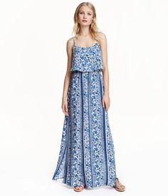H&M Patterned Maxi Dress
