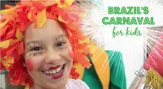 Brazil Carnaval for Kids- how do kids in Brazil celebrate carnaval, their most famous festival?