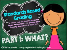 Unpacking the Standards: Assessments and Teaching Notes for Math and English Language Arts {Aligned to Student Data Tracking Binders} - Young Teacher Love by Kristine Nannini Standards Based Grading, Common Core Standards, Teacher Tools, Teacher Resources, Teacher Stuff, Classroom Resources, Classroom Freebies, Classroom Ideas, Future Classroom