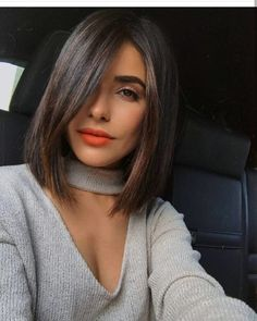I recently chopped my hair off because it was becoming dull, dry and damaged. I knew that having shorter hair meant changing up my haircare routine. Medium Hair Cuts, Short Hair Cuts, Medium Hair Styles, Short Hair Styles, Lob Hairstyle, Full Hair, Hair Looks, New Hair, Straight Hairstyles