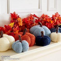 Harvest Crochet Pumpkins