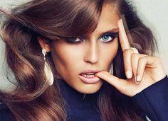 Bianca Balti - Italian model for Harper`s Bazaar Spain