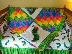 Very Hungry Caterpillar By Eric Carle  Baby by prairiewomandesigns, $425.00