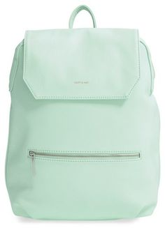 Matt & Nat 'Peltola' Vegan Leather Backpack - Green
