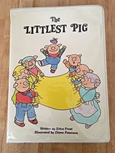 The Littlest Pig Vintage Troll Easy to Read Book & Tape Set 1986