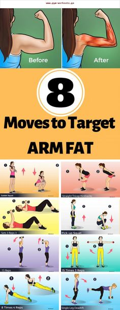8 moves to target arm fat - Super Healthy Tips, #healthy #moves #super #target