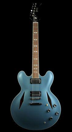 Gibson Dave Grohl ES-335 Semi-Hollowbody Electric Guitar Pelham Blue