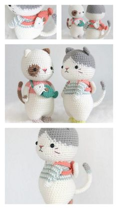 Kawaii Crochet, Cute Crochet, Crochet Motif, Crochet Crafts, Crochet Projects, Crochet Animal Amigurumi, Crochet Bear, Crochet Dolls, Crochet Doll Tutorial