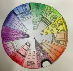 Kids Art Market: Color Wheel Perspective Plus