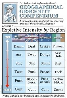 English swear words - funny pictures - funny photos - funny images - funny pics - funny quotes - #lol #humor #funny