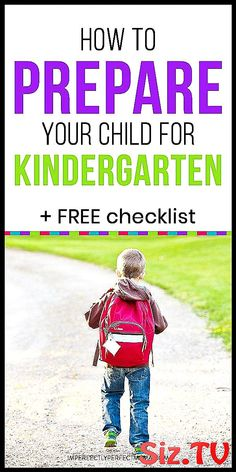 How to Prepare Your Child for Kindergarten + FREE Checklist! Here's your kindergarten readiness checklist! Learn the kindergarten readiness activities for your child before he or she starts school. Kindergarten skills like counting, letter recognition and Kindergarten Assessment, Kindergarten Lesson Plans, Letter Recognition, Your Child, Counting, Lettering, How To Plan, Learning, Children