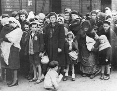 Today is #WorldPhotoDay. This is a rare photograph depicting the arrival of women and children at Auschwitz-Birkenau in May 1944.  Read our staff blog about the power of photography at Auschwitz and memorial sites in Poland - go to our news page at hmd.org.uk/news  Photo: Wiener Library  #photography #Auschwitz #Birkenau #Holocaust