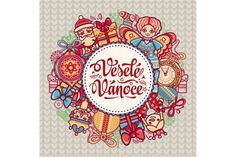 16 Czech Christmas Greeting Cards (Graphic) by zoyali · Creative Fabrica Merry Christmas In Italian, German Christmas, Merry Xmas, Christmas Stickers, Christmas Greeting Cards, Christmas Greetings, Christmas Crafts, Christmas Holiday, Illustrations
