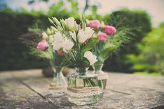Bloemdecoratie bruiloft, Nickie Fotografie