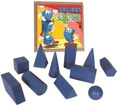 Sólidos Geométricos - Gafeti Brinquedos Educativos