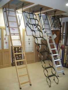 Merveilleux Image Of: Decorative Pull Down Attic Ladder